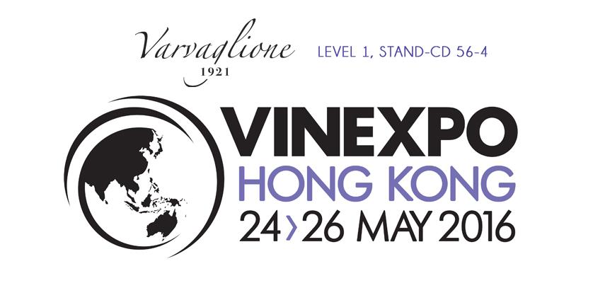 Varvaglione al Vinexpo 2016 di Hong Kong